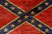 Confederate flag background — Stock Photo