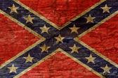 Confederate flag background — Stock Photo
