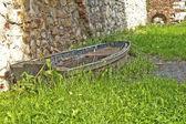 A stranded boat — Stock Photo