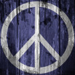 Peace symbol - Stock Photo