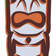 Stock Photo: Tiki Totem