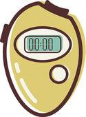 Illustration of a stopwatch — Stock Photo