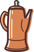 Illustration of a carafe — Stock Photo