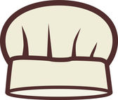 Llustration of a chef's hat — Stock Photo