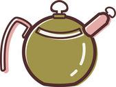 水壶的插图 — 图库照片