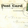 Stock Photo: Vintage postcard