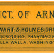 Royalty-Free Stock Photo: A vintage medical tincture label