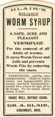 Vintage medicine label — Stock Photo