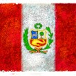 Flag of Peru — Stock Photo