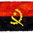 Flag of Angola — Stock Photo