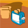 Toaster — Stock Photo