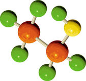 Illustration of an atom structure — Stock Photo