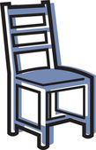 Illustration of a chair — Foto de Stock