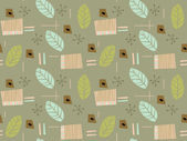 A floral pattern created through repetition — Stock Photo