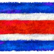 Drawing of the flag of Thailand — Stock Photo