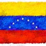 Drawing of the flag of Venezuela — Stock Photo