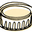 A ramekin — Stock Photo