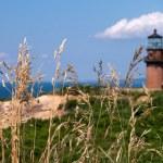 Gay Head Lighthouse in Aquinnah, Martha's Vineyard, MA — Stock Photo #11826825