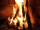 Madera del fuego — Foto de Stock