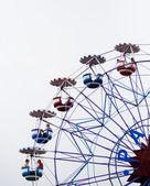 Ferris wheel at a fair — Stock Photo