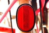 Bike reflector — Stock Photo