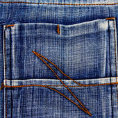 Fragment of jeans texture — Stock Photo