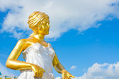 Angel statue Roman style on sky background — Stock Photo