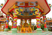 Chinese style roof decoration — Foto Stock