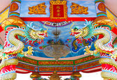 Chinese style roof decoration — Stock Photo