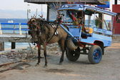 Carriage on Gili Island, Indonesia — Stock Photo