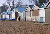 Beach Hut Maintenance — Stock Photo