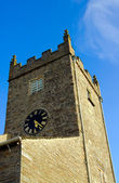 Hawkshead Church Tower — Stock Photo
