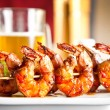 Shrimp grilled with beer — Stock Photo #11720178