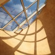 Roof skylight window — Stock Photo #11807349