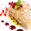 Fruit Cake Dessert — Stock Photo #11808213