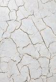 Decorative plaster with cracks — Stock Photo