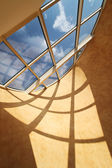 Roof skylight window — Stock Photo
