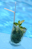 Mint cocktail — Stock Photo