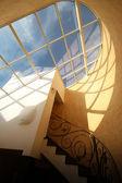 Okna dachowe skylight — Zdjęcie stockowe