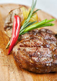 Grilled meat — Stock Photo