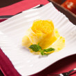 Fresh Pineapple dessert — Stock Photo