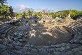 Ancient amphitheater in Turkey — Stock Photo