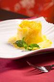 Fresh Pineapple dessert — Stock Photo
