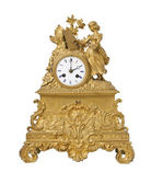 Vintage antique clock — Stock Photo