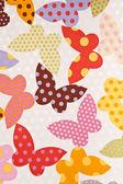 Vlinder. stof wallpaper achtergrond — Stockfoto