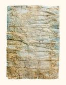 老弄皱的纸纹理 — 图库照片