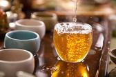 Traditional tea ceremony — Stock Photo