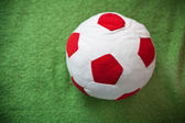 Weiche fußball für babys — Stockfoto