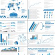 Stock Vector: INFOGRAPHIC DEMOGRAPHICS POPULATION