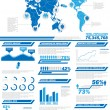 Stock Vector: INFOGRAPHIC DEMOGRAPHICS POPULATION 2